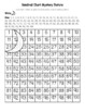 South Carolina Flag (USA) Hundred Chart Mystery Picture with Number Cards