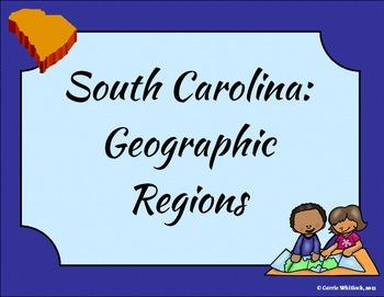 South Carolina - Geographic Regions Presentation 3-1.1