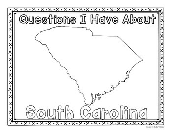 South Carolina Graphic Organizers (Perfect for KWL charts and geography!)
