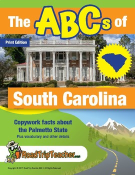 South Carolina Handwriting Printables - Print Edition