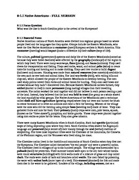 South Carolina History - Partner Read - 8-1 Bundle