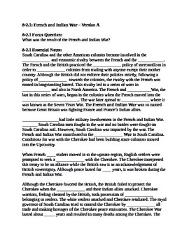 South Carolina History - Partner Read - 8-2 Bundle