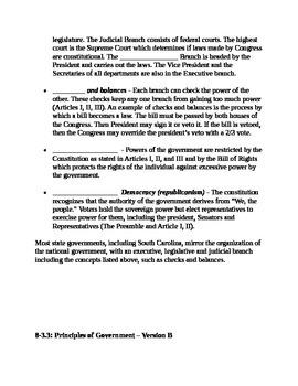 South Carolina History - Partner Read - 8-3.3