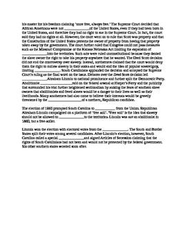 South Carolina History - Partner Read - 8-4.3