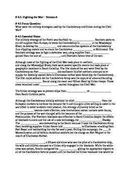 South Carolina History - Partner Read - 8-4.5