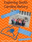 South Carolina History Reading Passages + Comprehension