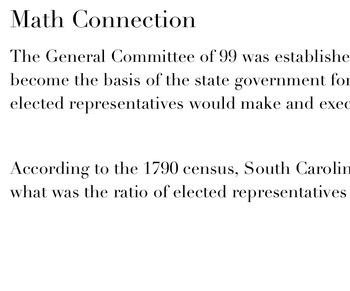 South Carolina History - Smartboard Station - 8-2.2