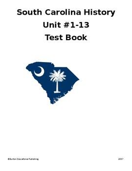 South Carolina History Unit Assessments