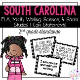 South Carolina I can statements for 2nd grade