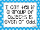 South Carolina I can statements for 2nd grade blue polka dot version!