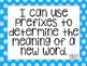 South Carolina I can statements for 2nd grade blue polka dot version!