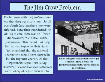 South Carolina - Jim Crow, Textiles, & Technology Presentation 3-5.1