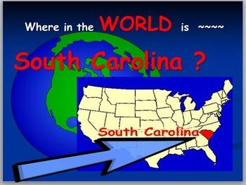South Carolina Map: Where is South Carolina ?