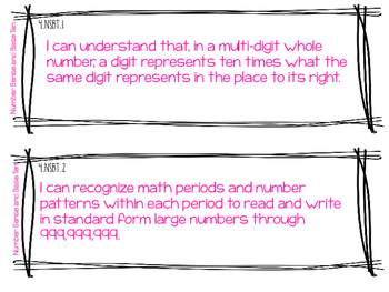 South Carolina Math Standards 4th Grade