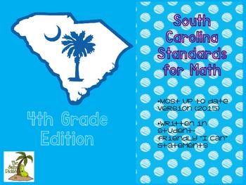 South Carolina Math Standards 4th Grade