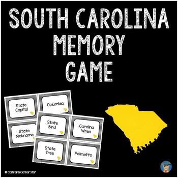 South Carolina Memory Game