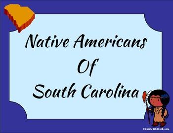 South Carolina- Native Americans Presentation: Cherokee, Catawba, Yemassee 3-2.1
