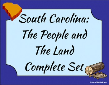 South Carolina - People and the Land Complete Set 3-1.3