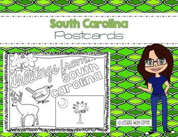 South Carolina Postcard - Classroom Postcard Exchange