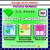South Carolina Puzzle BUNDLE - Word Search & Crossword - U.S. States - Google