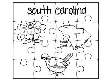 South Carolina Puzzle Set