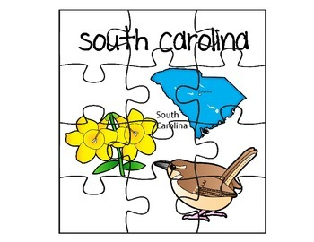 South Carolina Puzzle Set