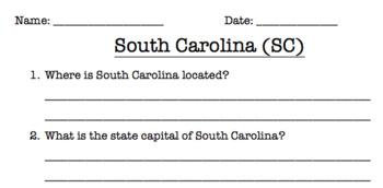 South Carolina Reading Comprehension