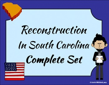 South Carolina - Reconstruction Complete Set 3-4.6