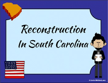 South Carolina - Reconstruction Presentation 3-4.6