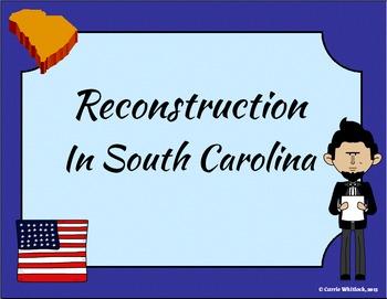 South Carolina - Reconstruction Presentation 3-4.6