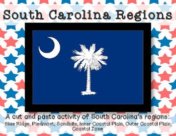 South Carolina Regions- Cut and Paste