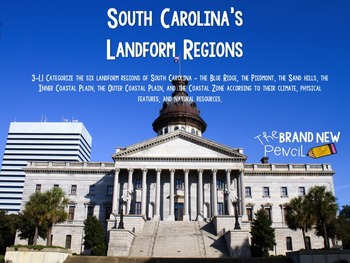 South Carolina Regions Presentation & Interactive Activity || 3-1.1