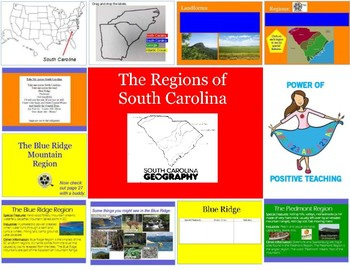 South Carolina Regions Promethean Flipchart