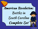 South Carolina - Revolutionary War: Battles in South Carolina Complete Set 3-3.3