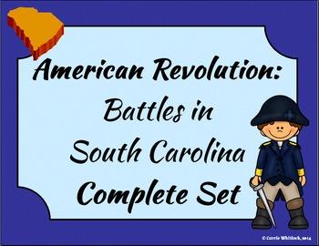 South Carolina - Revolutionary War: Battles in South Carolina Complete Set 3-3.3