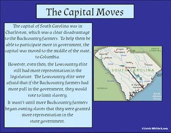 South Carolina - Revolutionary War: Effects in South Carolina Complete Set 3-3.4