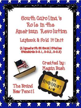 South Carolina Revolutionary War Lapbook and MiniBook