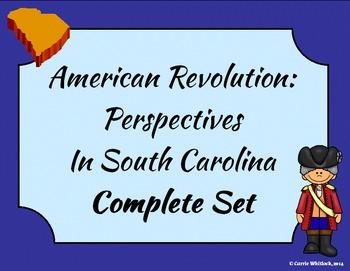 South Carolina - Revolutionary War Perspectives Complete Set 3-3.2
