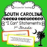 "South Carolina State Standards ""I Can"" Statements {1st Grade}"
