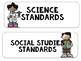 "South Carolina State Standards SCCCR ""I Can"" Statements {4th Grade}"