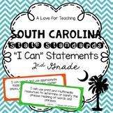"South Carolina SCCCR ""I Can"" Standard Statements Chevron {2nd Grade}"