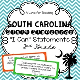 "South Carolina State Standards SCCCR ""I Can"" Statements Chevron {2nd Grade}"