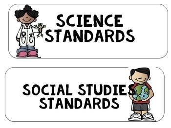 "South Carolina SCCCR ""I Can"" Statements {Kindergarten}"