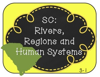 """South Carolina SS Standards: """"I Can""""statements and essential questions"""