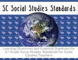 "South Carolina SS Standards: ""I Can""statements and essential questions"