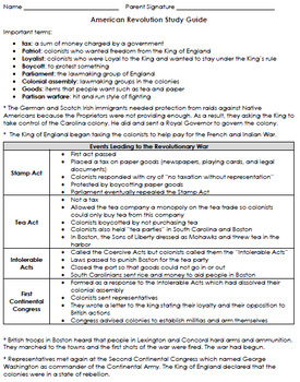 South Carolina Social Studies Study Guides {3rd Grade Standards}