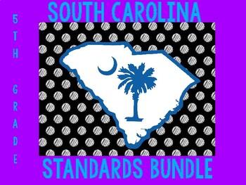South Carolina Standards Bundle 5th grade