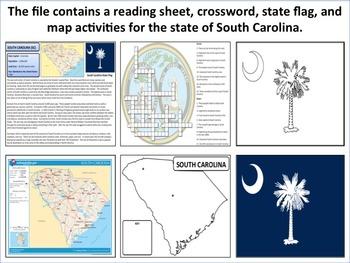 South Carolina - State Activity Set