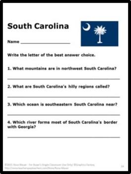 South Carolina Welcome to the USA