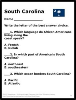 South Carolina Heinemann State Studies